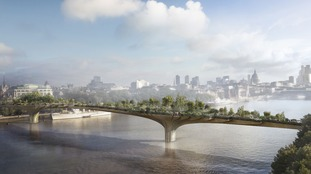 Is London's Garden Bridge doomed? Sadiq Khan urged to pull the plug