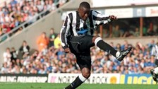 Andy Cole became a fans' favourite at Newcastle United