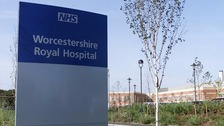 Worcestershire Royal Hospital in Worcester