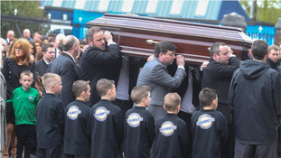 Funeral of man killed in row in Belfast city centre takes place