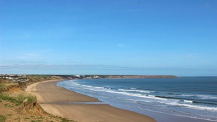 Expect sunshine over the weekend. This is Filey Bay  PATRICIA MORRIS