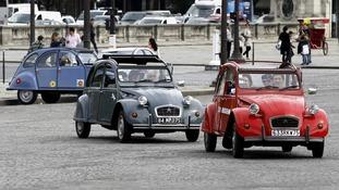 Paris car ban