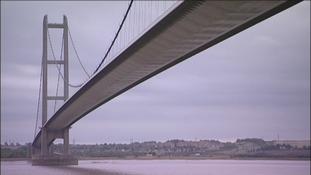 Humber Bridge ministerial visit