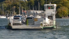 The Windermere ferry.