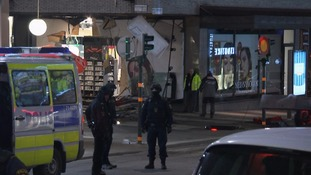 The attack killed four people after a beer lorry was hijacked and driven down the pedestrianised road.