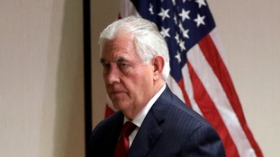 US Secretary of State Rex Tillerson is scheduled to visit Moscow next week.