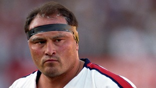 England rugby legend Brian Moore