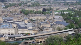 A warning to travellers: no trains running from Bath Spa this weekend