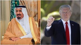 Salman and Trump