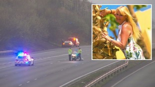 Patricia Joyce Connors was hit on the M4 near Cardiff.
