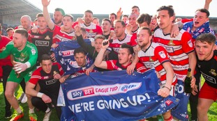 League Two round-up: Doncaster going up after win