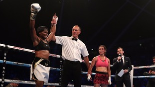Nicola Adams wins professional debut fight in style