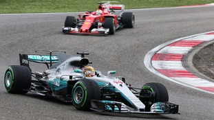 Chinese Grand Prix: Lewis Hamilton takes first win of the Formula 1 season ahead of Sebastian Vettel
