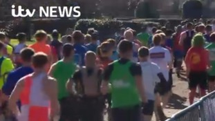 Twelve thousand take part in Britain's second largest marathon