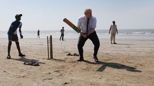 Mayor of London Boris Johnson is currently on a six-day business visit to India.
