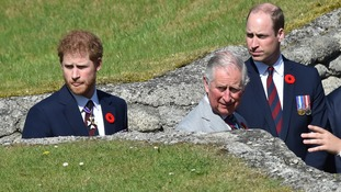 Royals mark Battle of Vimy Ridge centenary in France as Queen praises Canadian sacrifice