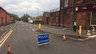 Brooms Road remains closed in Dumfries