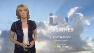 Monday weather forecast with Emma Jesson