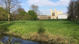 Cambridge the hottest place in the UK as April temperatures soar