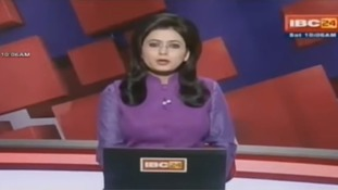 News presenter learns of her husband's death on live TV