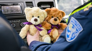 Estonian police to be given teddy bears to comfort traumatised children