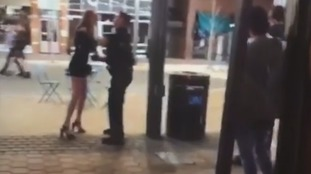 Colorado police officer filmed body slamming young woman