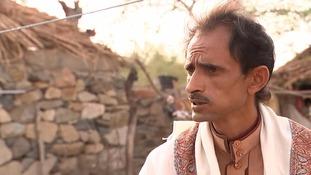 Village elder Mohammed Ali Ismail.