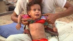 'Pockets of famine' already exist in Yemen, ITV News learns