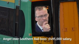 """Wave of anger"" over rail disruption and rail boss's pay"