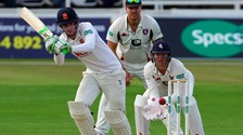 Dan Lawrence in action for Essex last season.