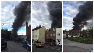 Fire in Thirsk