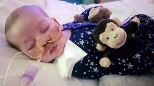 'You shouldn't have to die': Parents fighting to keep sick baby alive to learn his fate