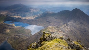 View from summit of Snowdon named as UK's top sight