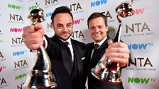 Ant and Dec with their NTAs