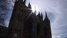 Peterborough Cathedral.