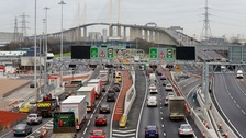 The current Dartford Crossing is congested on a regular basis.