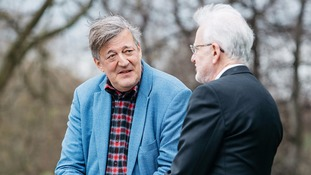 Stephen Fry speaks about mental health struggle in film backed by royals