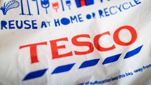 Operating profits are up for Tesco by 30%.