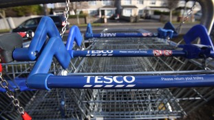 Group sales were also up for Tesco to £49.9 billion.
