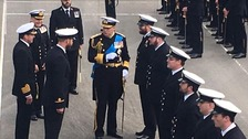 The Duke completed 22 years of service in the Royal Navy.