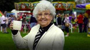 Former Newcastle United tea-lady Kath Cassidy