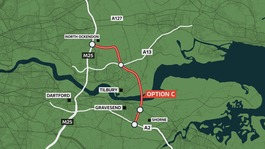 Government gives go-ahead to Lower Thames Crossing