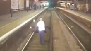 Shocking footage released of people dangerously trespassing on railway lines