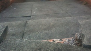 Pavements have holes