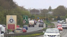 The stretch of the A12 at Martlesham Heath is one of the busiest along the entire length of the road.