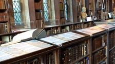 Gloucester Cathedral's 15th century library