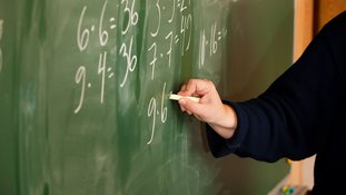 Maths blackboard