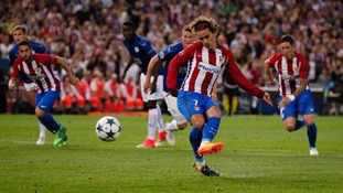 Champions League: Atletico Madrid take narrow lead over Leicester