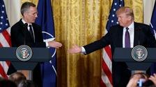 Mr Trump believes Nato is 'no longer obsolete'