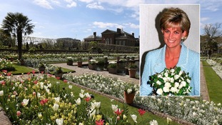 Memorial garden marks 20 years since death of Diana, Princess of Wales